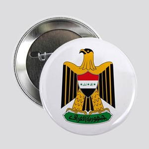"""Iraq Coat of Arms 2.25"""" Button (10 pack)"""