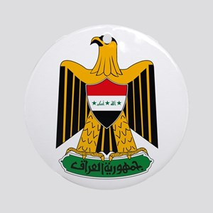 Iraq Coat of Arms Ornament (Round)
