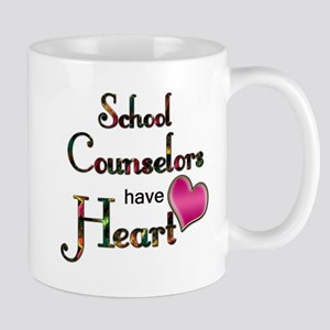 Teachers Have Heart counselors Mugs