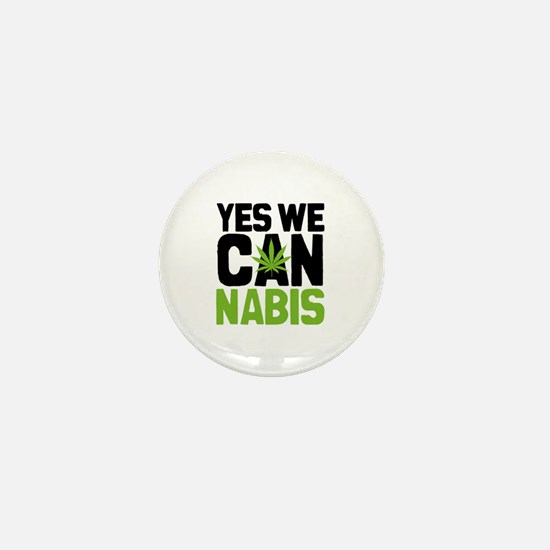 Yes We Can Mini Button