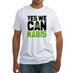 Yes We Can Fitted T-Shirt