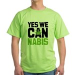 Yes We Can Green T-Shirt