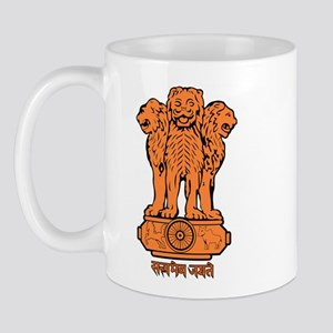 India Coat of Arms Mug