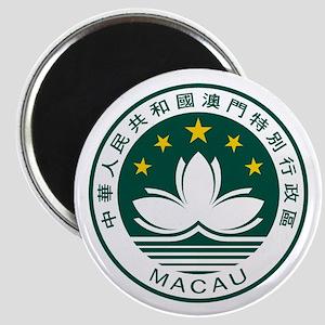 "Macau Coat of Arms 2.25"" Magnet (10 pack)"