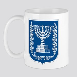 Israel Coat of Arms Mug