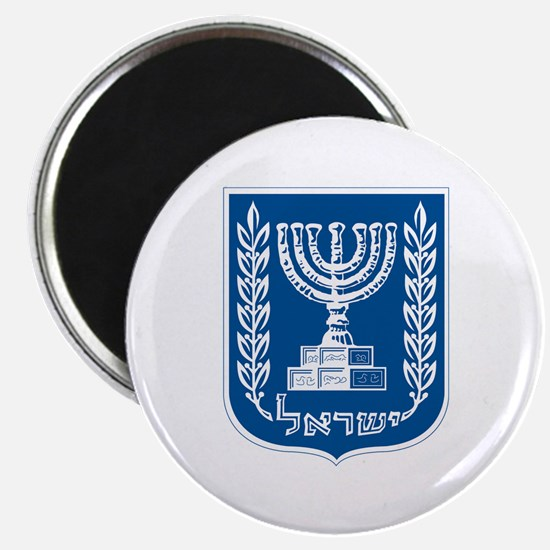 "Israel Coat of Arms 2.25"" Magnet (10 pack)"
