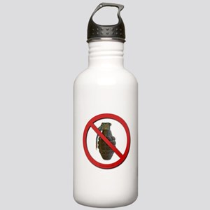 No Grenades Stainless Water Bottle 1.0L