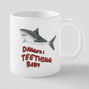 Shark - Danger Teething Baby 20 oz Ceramic Mega Mu