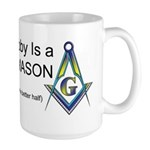 Masonic Better Half Large Mug