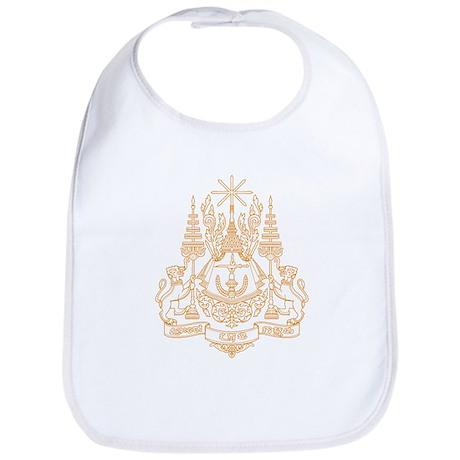 Cambodia Coat of Arms Bib