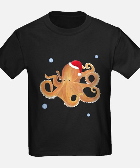 Christmas Octopus T