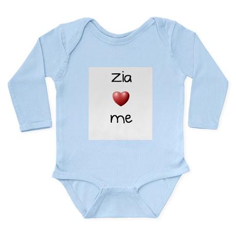 Zia Loves Me Long Sleeve Infant Bodysuit