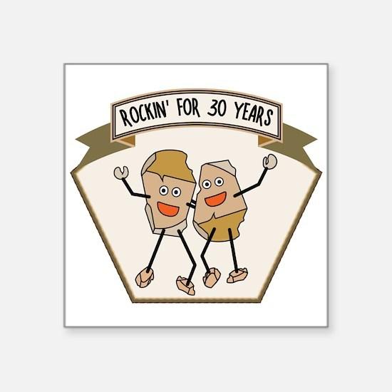 Rockin' For 30 Years Sticker