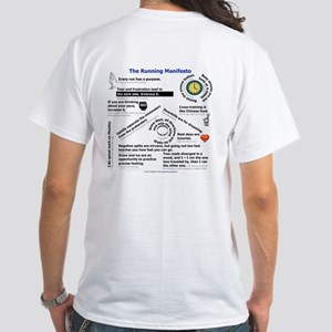 The Running Manifesto White T-Shirt