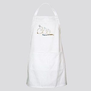 keep on thumpin' Apron