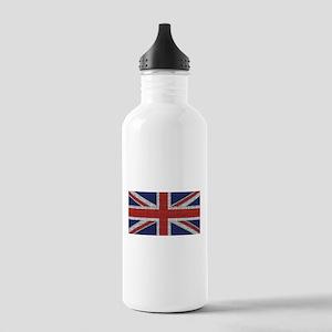 Union Jack British Flag Stainless Water Bottle 1.0