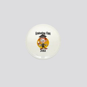 Graduating Class Boy Mini Button