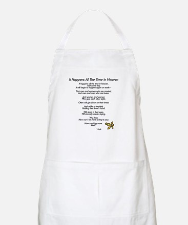 It Happens All The Time BBQ Apron