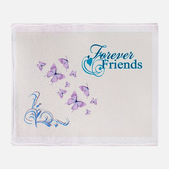 FOREVER FRIENDS Throw Blanket