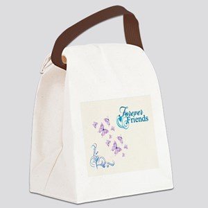 FOREVER FRIENDS Canvas Lunch Bag