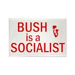 Bush = Socialist Rectangle Magnet (10 pack)