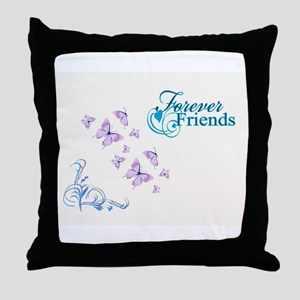 FOREVER FRIENDS Throw Pillow