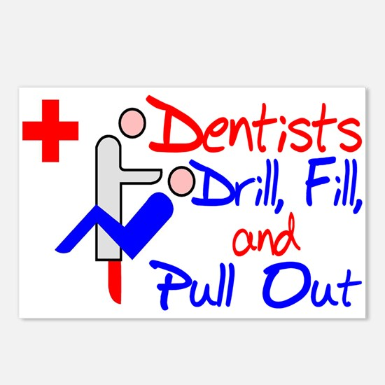 Dentists Drill Postcards (Package of 8)