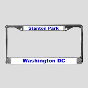 Stanton Park License Plate Frame