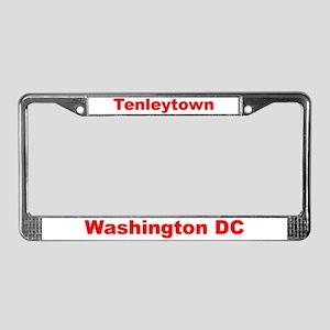 Tenleytown License Plate Frame