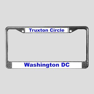 Truxton Circle License Plate Frame