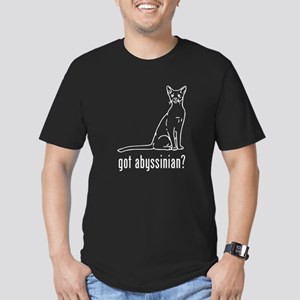 Abyssinian Men's Fitted T-Shirt (dark)