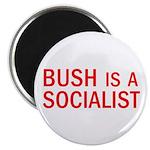 """Bush = Socialist 2.25"""" Magnet (100 pack)"""