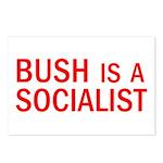 Bush = Socialist Postcards (Package of 8)