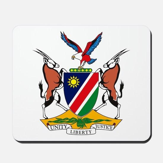 Namibia Coat of Arms Mousepad