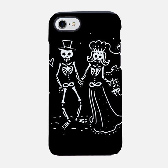 skel-couple_12x18.png iPhone 7 Tough Case