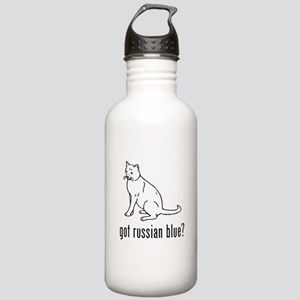 Russian Blue Stainless Water Bottle 1.0L