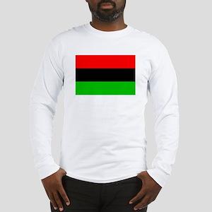 African American Flag 4 Long Sleeve T-Shirt