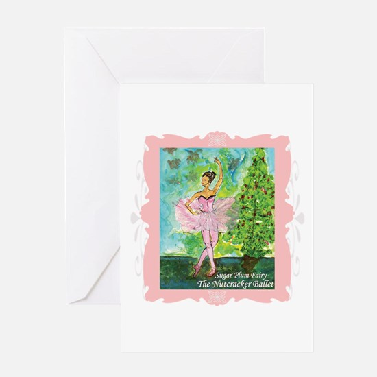 Sugar Plum Fairy Greeting Card