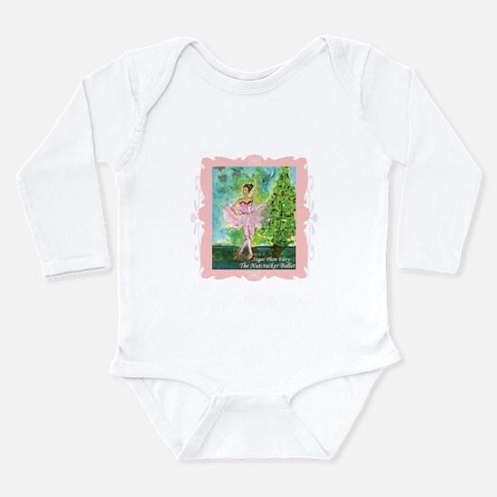 Sugar Plum Fairy Long Sleeve Infant Bodysuit