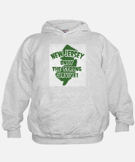 New Jersey Only the Strong Survive Hoody