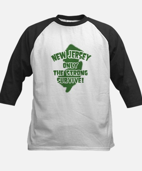 New Jersey Only the Strong Survive Kids Baseball J