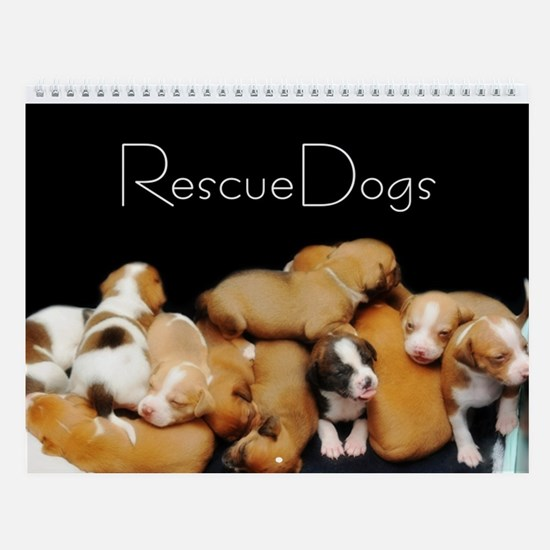 Rescue Dogs Calendar II Wall Calendar