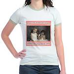 Migraine Hurts Jr. Ringer T-Shirt
