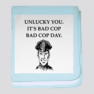 good cop police Infant Blanket
