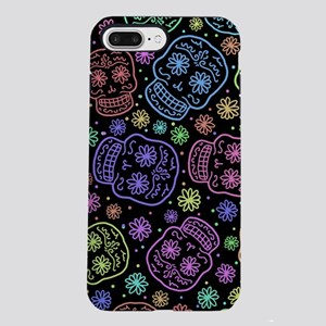 Day Of The Dead Pattern iPhone 7 Plus Tough Case