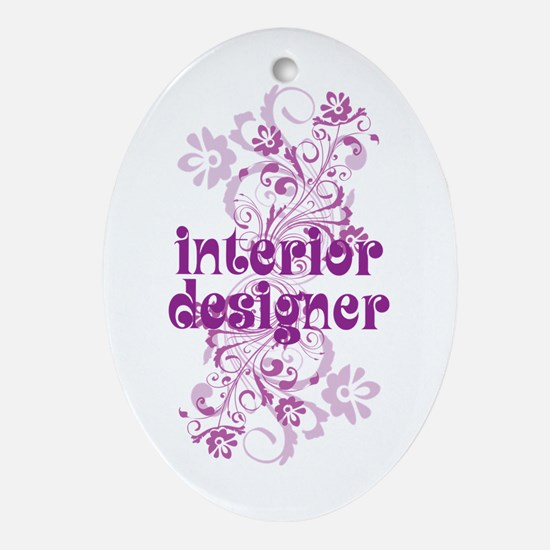 Interior Designer Ornament (Oval)