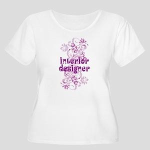 Interior Designer Women's Plus Size Scoop Neck T-S
