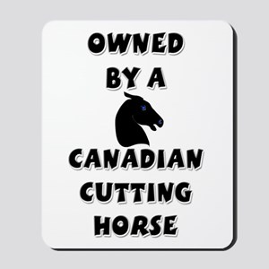Canadian Cutting Horse Mousepad