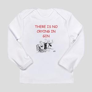 i love gin Long Sleeve Infant T-Shirt