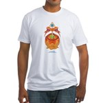 Kawaii Orange Candy Apple Fitted T-Shirt